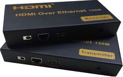 High Definition 1080P 150M  KVM USB Fiber Extender 120M Over IP / RJ45 Ethernet